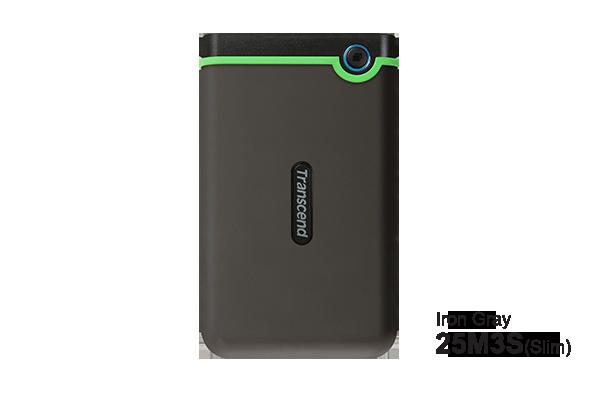 Transcend StoreJet 25M3 1 TB Portable External Hard Disk